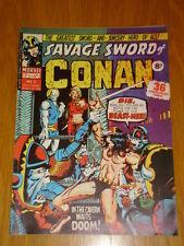 CONAN SAVAGE SWORD #2 BRITISH WEEKLY 1975 MARCH 15TH