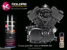 Vernice testurizzata rugosa spray 400ml - Nero Harley Davidson alta temperatura