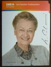 "Ursula Cantieni - Autogrammkarte ""Die Fallers"" Nr. 3"