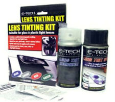 Black look smoke car headlamp indicator lense tint tinting spray paint + remover