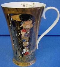 GOEBEL ART NOUVEAU FLARED MUG - GUSTAV KLIMT - DER KUSS - THE KISS - 67021352