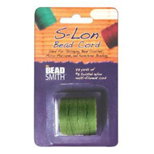 S-LON BEAD CORD TEX 210 1/CD LEMON GRASS