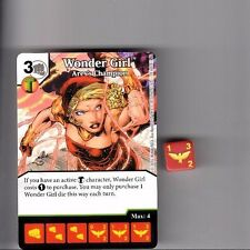 DICE MASTERS DC GREEN ARROW & FLASH UNCOMMON CARD #79 WONDER GIRL ARES'S W/DICE