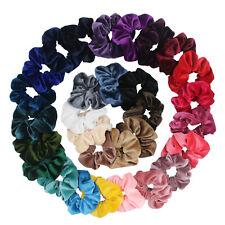 Velvet Hair Scrunchie Elastic Hair Bands Hair Ties Hair Bobbles Accessories