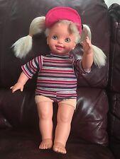 "1994 Stuffed Plush Kelly Barbie Baby Doll 17"""