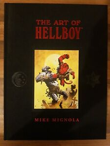 Art Of Hellboy Library Edition