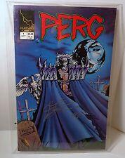 Lightning Comics Perg #1 Signed by Creator and Writer Joseph Zyskowski with COA