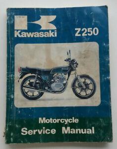 KAWASAKI KZ SERIES SHOP MANUAL ~ FACTORY ISSUE ~ 1974