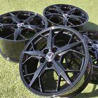 19 20 Corvette C8 Wheels Factory Oem Gm 14011 14012 Black Set 4 2021 Rims