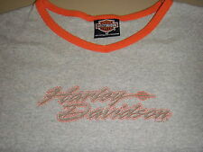 Genuine Harley-Davidson Womens/Ladies (M) Coralville, Hawkeye Long Sleeve Shirt