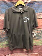NEW Gildan KC Royals Collared Shirt Grey Sz Medium