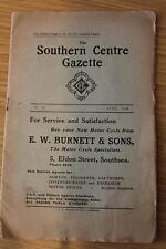 Auto Cycle Union Southern Gazette & Motor Cycle Competition Entry Forms 1934
