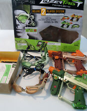 Ultimate Hasbro Lazer Tag Team Ops Deluxe 2-Player System Used in Box