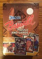 1987 Donruss Unopened Baseball Wax Box BBCE Authenticated - Bonds Maddux RC