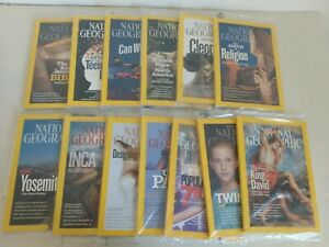 National Geographic Magazine 2010 2011 2012 - Lot of 13 Issues NEW Sealed