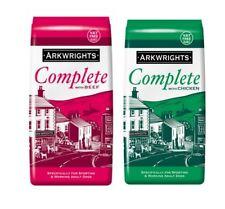 More details for arkwrights complete dog food beef or chicken dry dog food 15 kg