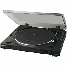 Sony PS - LX 300 USB Plattenspieler, Halb / Vollautomat , DV-Servomotor, schwarz