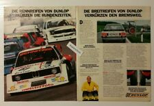 Werbeanzeige/advertisement A4: Dunlop Breitreifen Rennreifen 1981 (120416197)