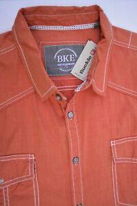 Buckle BKE Stockton Shirt Athletic Fit Button Front Long Sleeve Men's 2XL