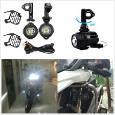 For BMW R1200GS ADV F800GS 2X 40W White Motorcycle Fog Lamp Auxiliary Headlight