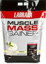 New listing Labrada Nutrition Muscle Mass Gainer Vanilla 12 Pound