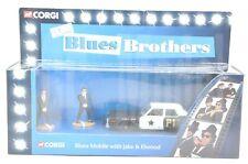 "M1306 CORGI - ""the BLUES BROTHER Mobile"" ( Dodge Monaco ) with Figure"