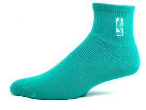 NBA Logoman Quarter Men's Socks Caribbean Blue