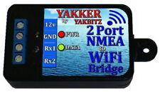 NMEA to WiFi Bridge 2 Port Multiplexer (Yakker2 by YakBitz)