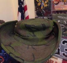 Vintage VIETNAM WAR U-TAPAO THAILAND Jungle Cowboy Boonie Hat. Rare