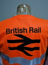 More details for br british rail hi vis waistcoat high visibility network railway ppe heritage