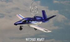 Cirrus Vision Jet Airplane Custom Christmas Ornament 1/100th Aircraft SF50 SJ50