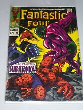 Fantastic Four #76! (1961) 2nd Appearance of Psycho Man! Good Condition!