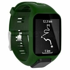 Silicone Band Strap Wristband forTomTom Runner 2&3/Golfer 2/Spark 3 GPS Watch