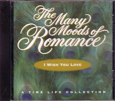 TIME LIFE Many Moods Romance I WISH YOU LOVE CD Classic HENRY MANCINI LENA HORNE