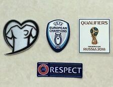 Set Of 2018 Russia World Cup Qualifiers Patch For Portugal Badge Remendo Parche
