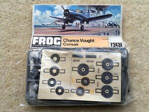 1970s FROG NoF243F CHANCE VOUGHT CORSAIR 1:72 SCALE CONSTRUCTION KIT&ORIG PACKET