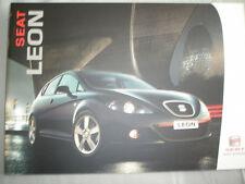 Seat Leon range brochure Sep 2005