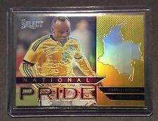 2015 Select Soccer CAMILO ZUNIGA Gold National Pride # 09/10