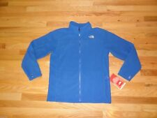 New Boys North Face Khumbu Fleece Jacket Nautical Blue XL 18/20 $65 Polyester