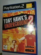 Tony Hawks Underground 2 - Sony Playstation 2 PS2 - Free Postage + Manual