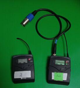 Sennheiser g2 Transmitter And Receiver