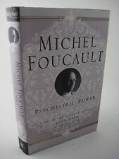 1st Edition PSYCHIATRIC POWER Michel Foucault LECTURES Philosophy FIRST PRINTING