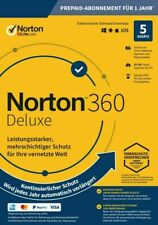 NORTON 360 Deluxe 2021 5 Geräte 1 Jahr 50GB Cloud ABO EMAIL SOFORT