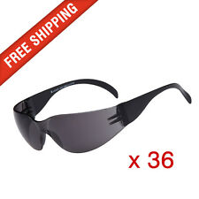 36 x Tinted Safety Glasses Eye Protection PPE Australian Standards