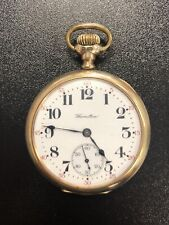 Hamilton Watch Co. 17 Jewels Pocket Watch Working Condition