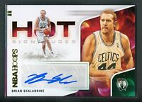 2020-21 BRIAN SCALABRINE AUTO PANINI HOOPS HOT SIGNATURES AUTOGRAPHS