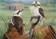 AU Seller 5D Animal Kookaburras Diamond Painting SQUARE Kit - 40cms x 50cms