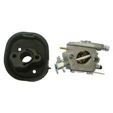 Carburetor & Intake Manifold Insulator Fits Partner 350 351 370 371 420 Chainsaw