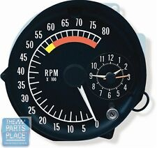 1973-75 Pontiac Firebird Trans Am Tachometer And Clock (5700 RPM)