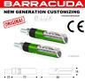 Frecce in Alluminio Satinato VERDE Idea Led B-LUX 70x16 mm UNIVERSALI per Moto